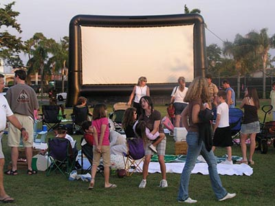 Huge Screen Balswin Park